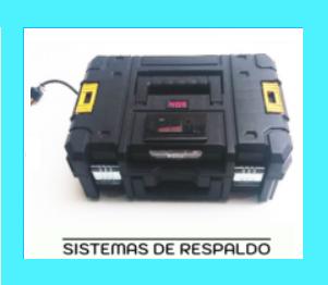 SISTEMAS DE RESPALDO CON BATERÍAS UPS