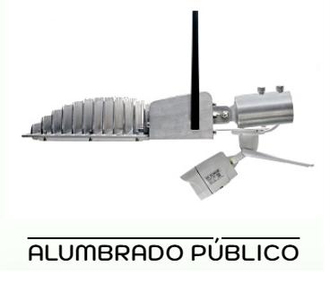 luminarias de alumbrado público led