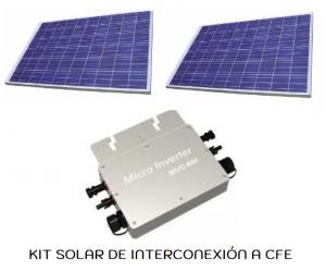Sistemas de interconexión a CFE