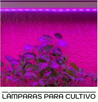 la´mpara led para cultivo crecimiento de plantas