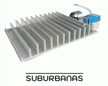 lámparas suburbanas led
