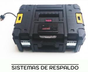 sistema de respaldo de baterías litio